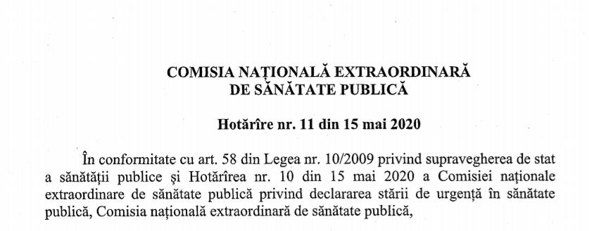 Reluăm activitatea începând cu 18.05.2020
