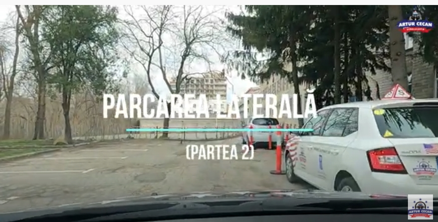 Cum să realizezi o parcare laterală?